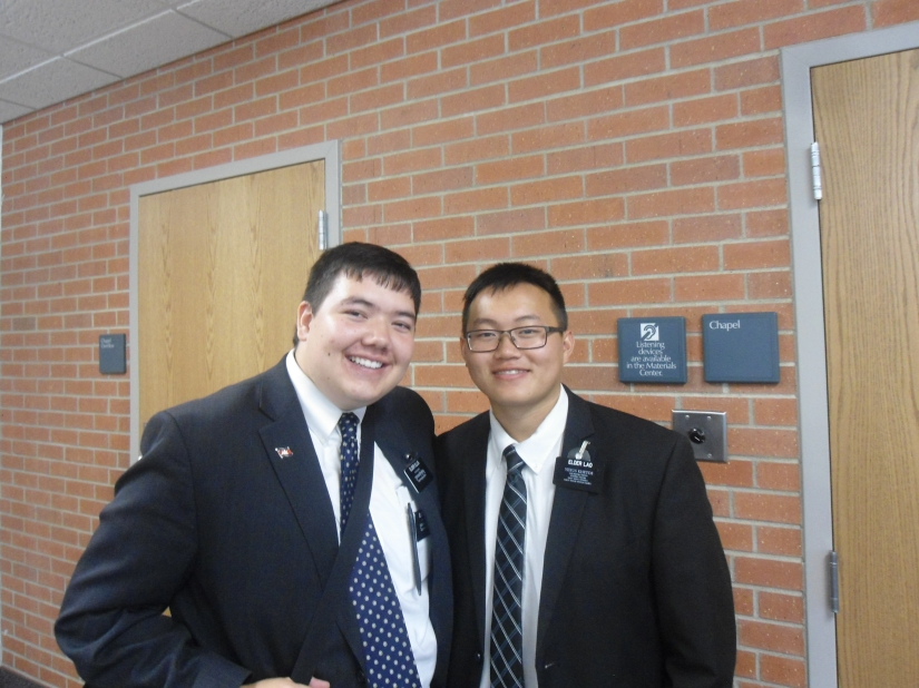 Elder Ellis and Elder Lao